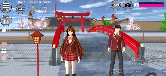 樱桃学院模拟器中文破解版游戏特色图片